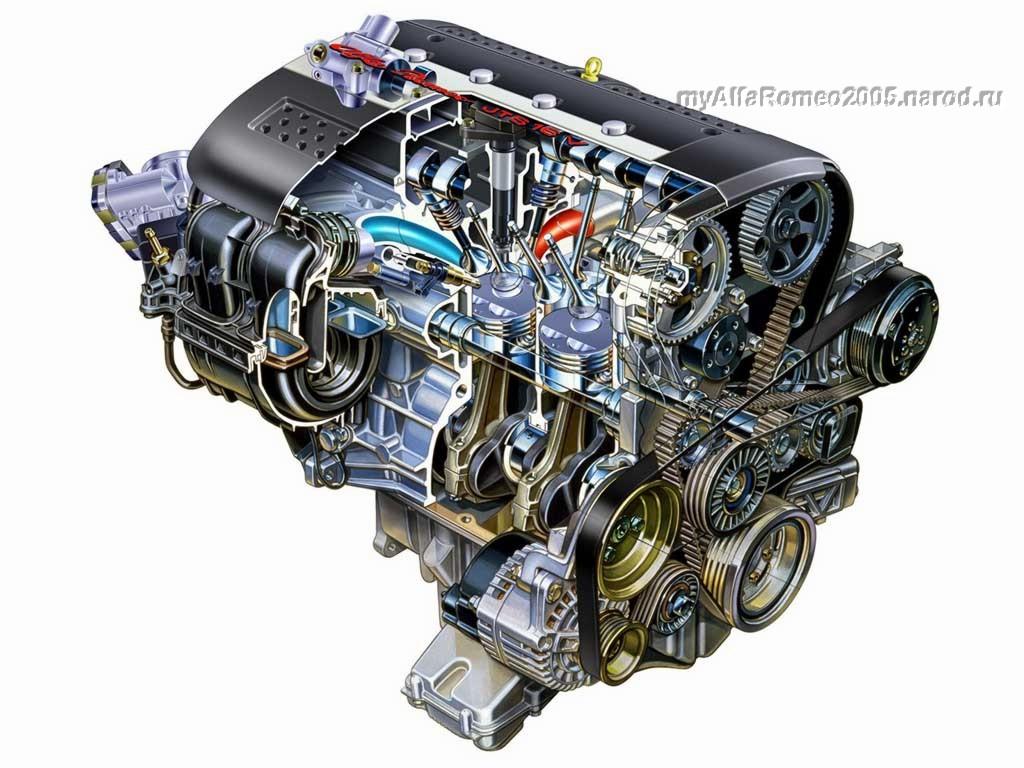 Ремонт двигателя альфа ромео 156